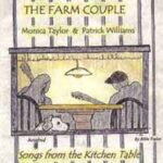 My mother drew the picture for this second Farm Couple CD... with Rosebud listening to our practice.