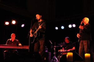 Jimmy Lafave & Night Tribe This Cimarron Breeze sponsored concert with one of Oklahoma's favorite sons, Jimmy Lafave and his stellar band Night Tribe will be on Saturday, June 6th. 2015 in The Old Church (Perkins, OK) at 8pm.   Tickets are $25 in advance, or $30 at the door.   You may also include Jimmy's show in your Spring & Summer Season Ticket for $20 extra- makes that total for five shows plus JImmy Lafave, $120. Tickets may be purchased on this website, Daddy O's Music Store in Stillwater, OK, or Waltman Realty in Cushing, OK... or at the first Season concert on Friday, April 17.