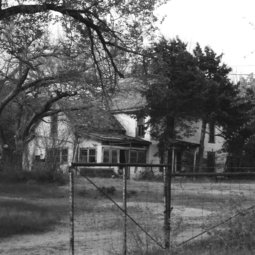 A photo of The Farm, west of Stillwater. The birthplace of Red Dirt music... from the 80's.